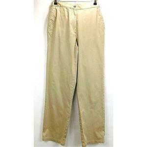 Marsh Landing Womens Pants 8 Khaki Cotton Spandex
